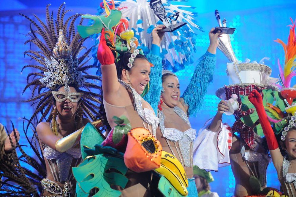 Foto de Kisomba la comparsa ganadora del Carnaval de Las Palmas 2011