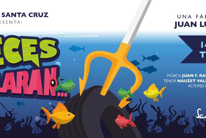 Si los peces hablaran..._Sandra Santa Cruz_Faldón del Musical del Centro de Danza