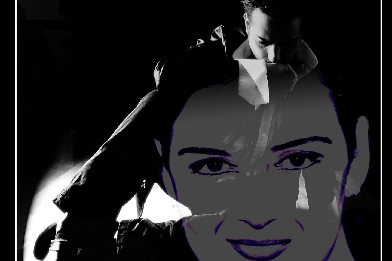 Montaje de Sandra SAnta CRuz de un chico sentado en el suelo cabizbajo y la cara de una chica superpuesta para explicar este post sobre las relaciones rotas y la relación de los niños