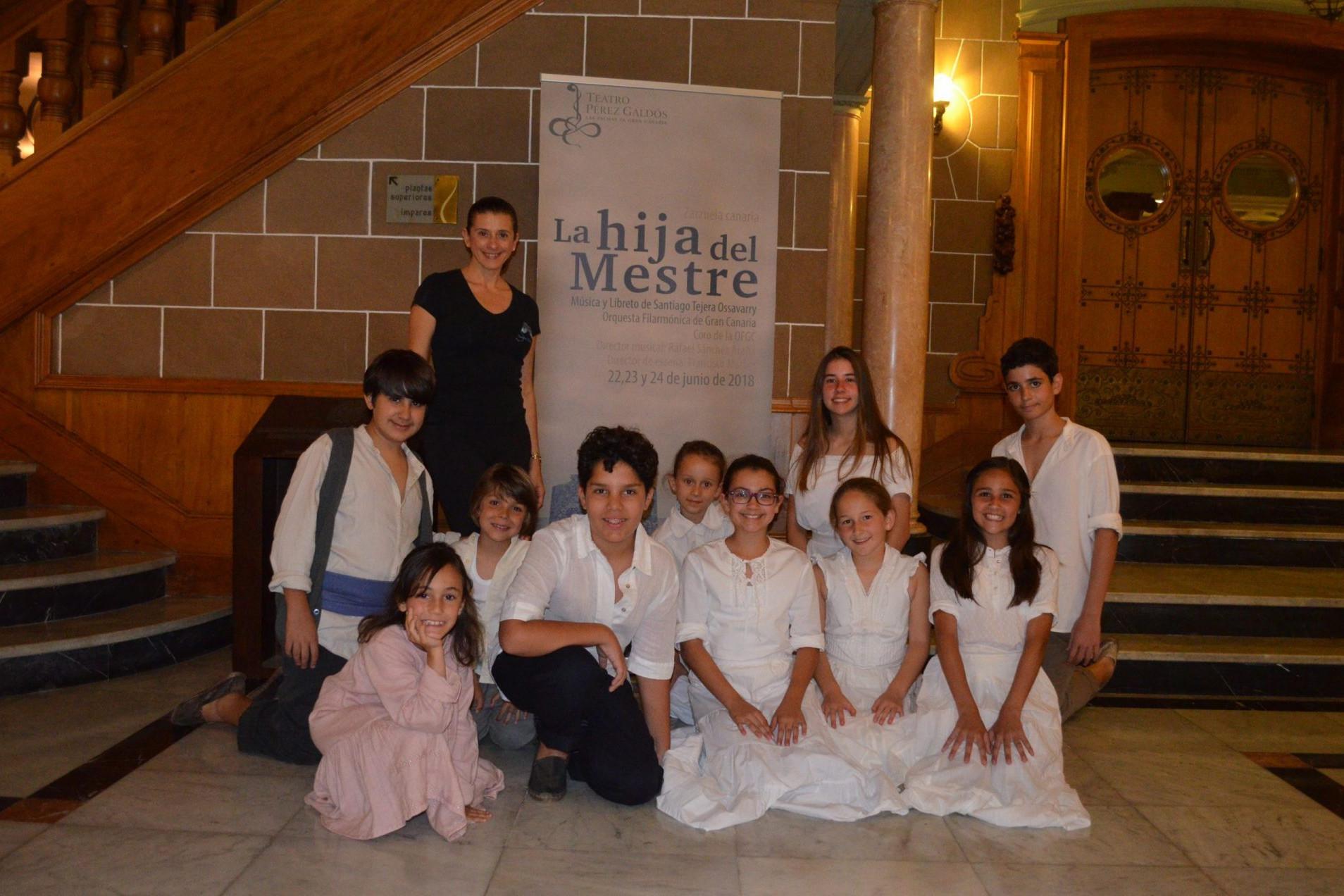 Foto de Sandra Santa Cruz coreógrafa en la zarzuela