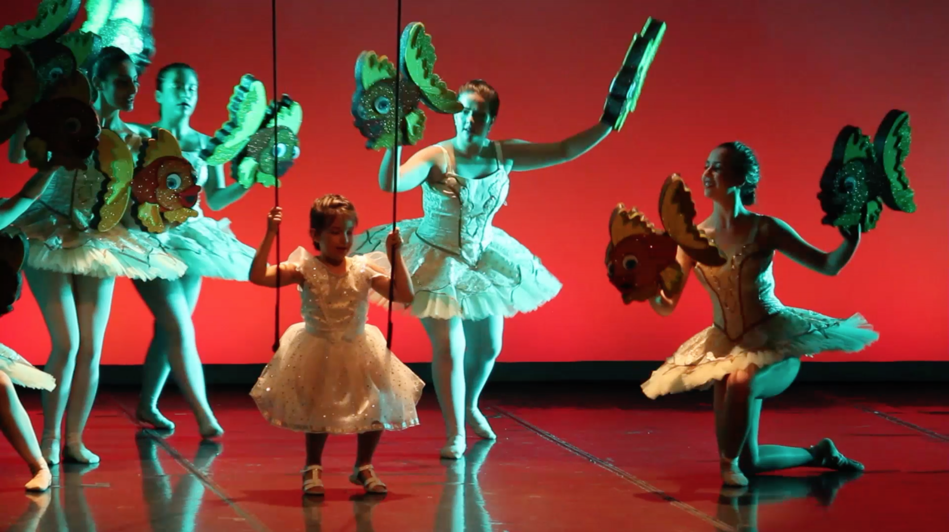 Foto de un grupo de Oropeces del Musical